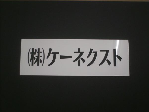 ケーネクスト様 スプレー吹き付けテンプレート(ポリパネル1mm)の画像01
