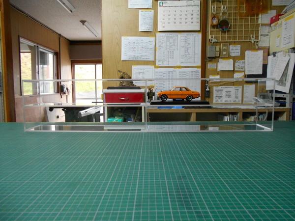 透明アクリル加工 陳列ケースの画像01