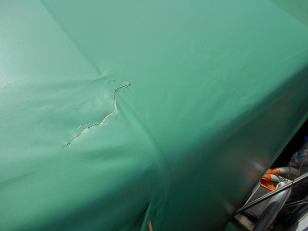 テント倉庫 修理の画像01