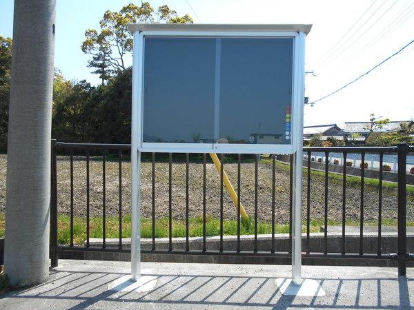 三和サインワークス(株)ガラス引違い型掲示板の画像01