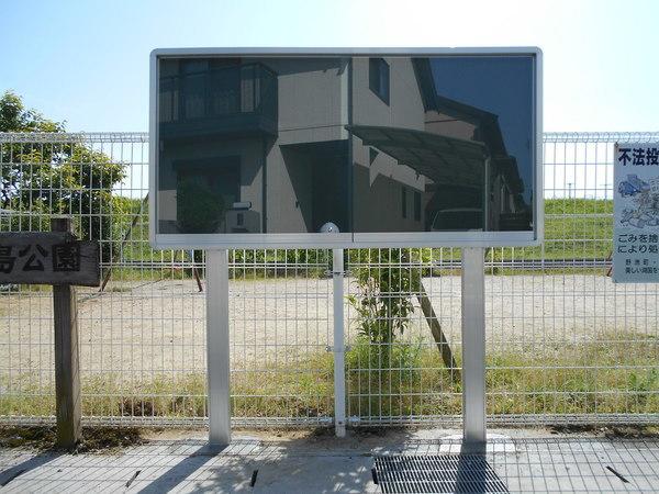 アルミ掲示板 狭い場所でも建てられますの画像01